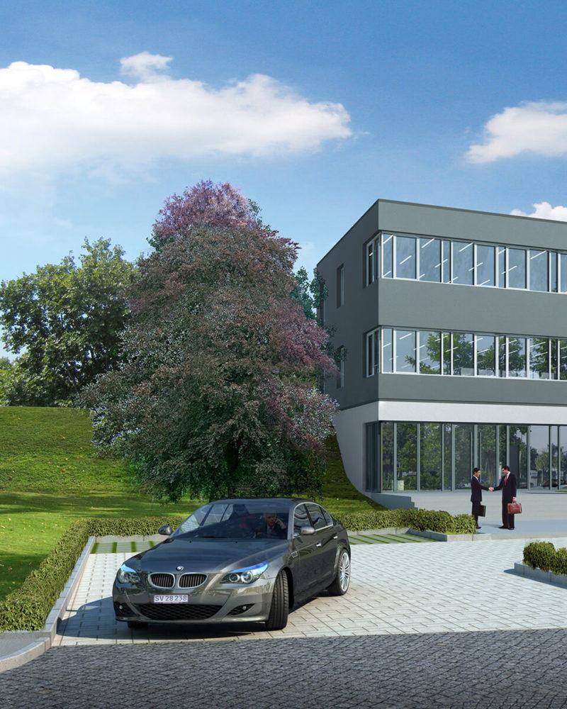 Apartment building. Stuttgart,  Germany